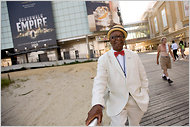 Ralph Hunter on the Atlantic City Boardwalk